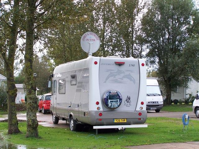 satellite hook up in rv