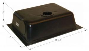 Holding Tank Bottom Drain HT630ABD