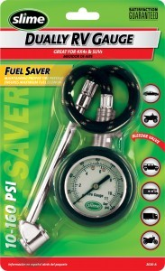 RV tire pressure gauge. Photo Credit: Slime.com