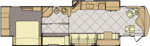 Fleetwood Discovery Floor Plan