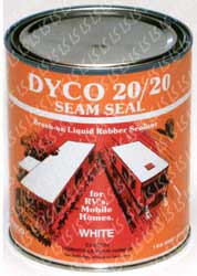 Dyco Rv roof Sealer
