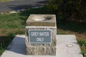 Grey water dumping sites