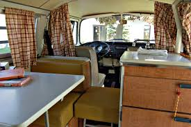 Traditional Camper Interior