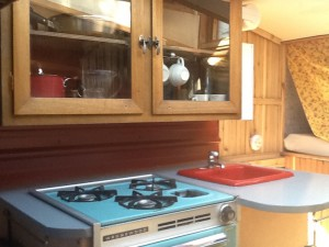 Wooden-cabinets-in-the-mini-RV