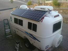 Solar Panels on Camper