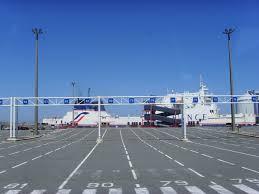 Port in Calais