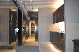 interior shipping container