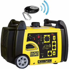 portable remote controlled generator