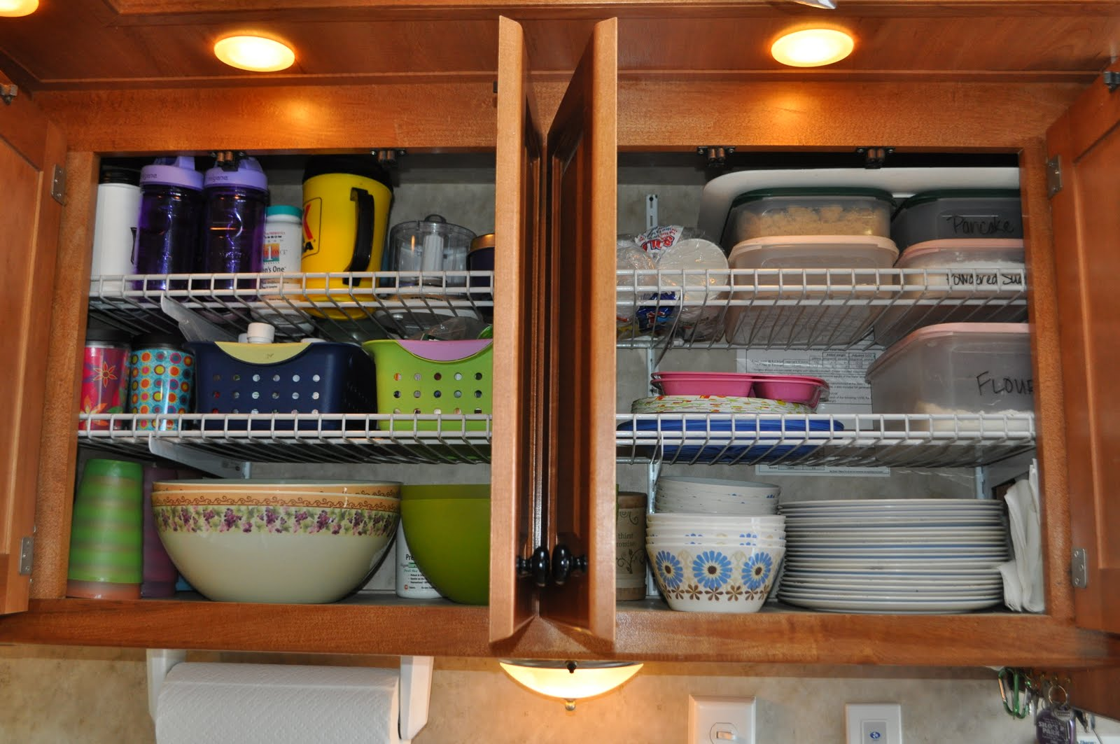 24 Easy RV Organization Tips - RVshare.com Ideas Small Camper Kitchen on large galley kitchen ideas, rv bathroom ideas, office kitchen ideas, country kitchen makeover ideas, kitchen wine bar ideas, boat kitchen ideas, modern vintage kitchen ideas, camper organizational tips, kitchen setup ideas, camper living room, simple kitchen ideas, small kitchen set up ideas, pier one kitchen ideas, camp kitchen ideas, hunter kitchen ideas, home kitchen ideas, rv storage ideas, trailer kitchen ideas, small apartment kitchen ideas, cabin kitchen ideas,