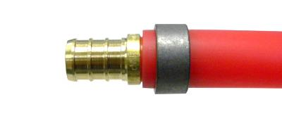 PEX tube fitting - Photo Credit: PEXUniverse.com