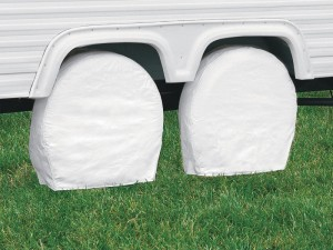 RV tire covers. Photo Credit: Laguna Madre Recreational Products.