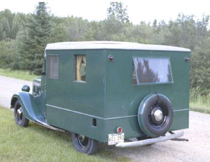 1937 Ford House car