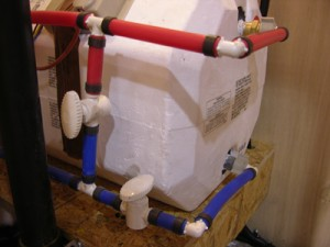2 valve Water Heater-Bypass