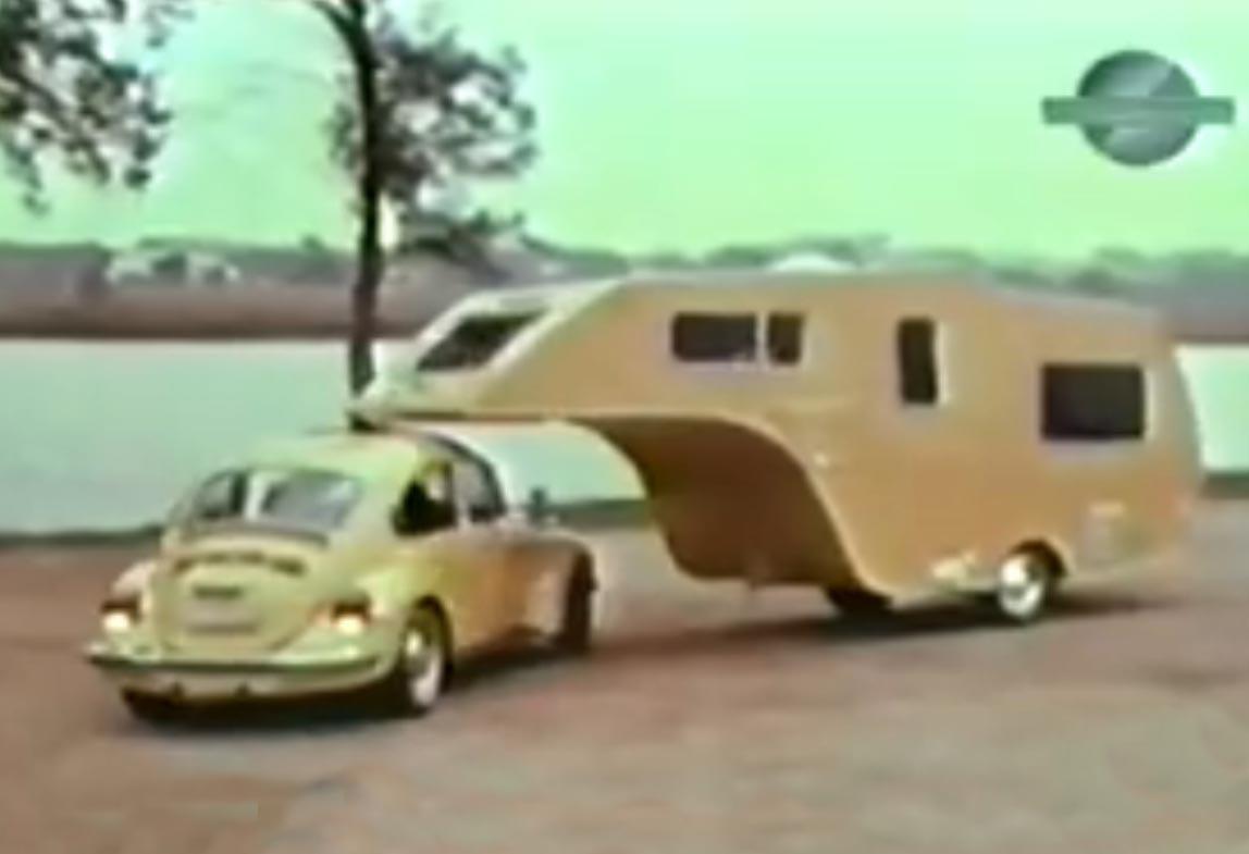 70's Vw Trailer