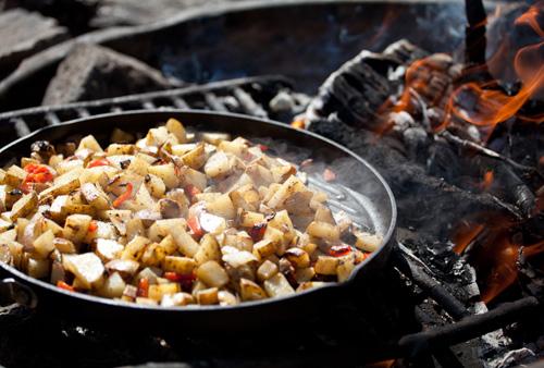 Campfire-Breakfast hash