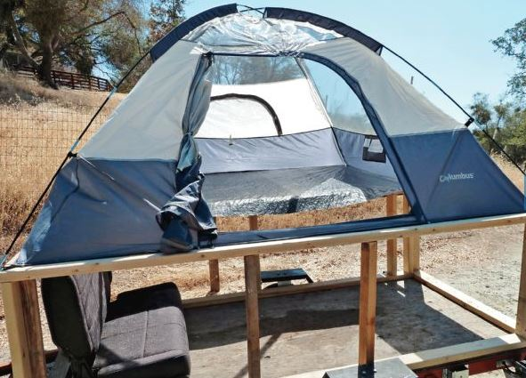 How to Build a Brilliantly Simple Tent Trailer - RVshare com