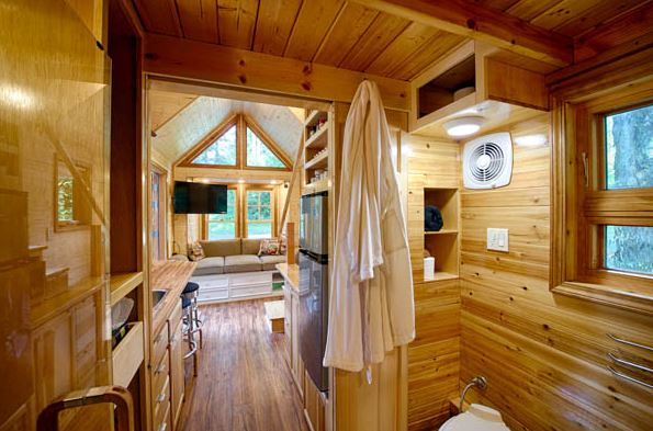 Hope cottage interior