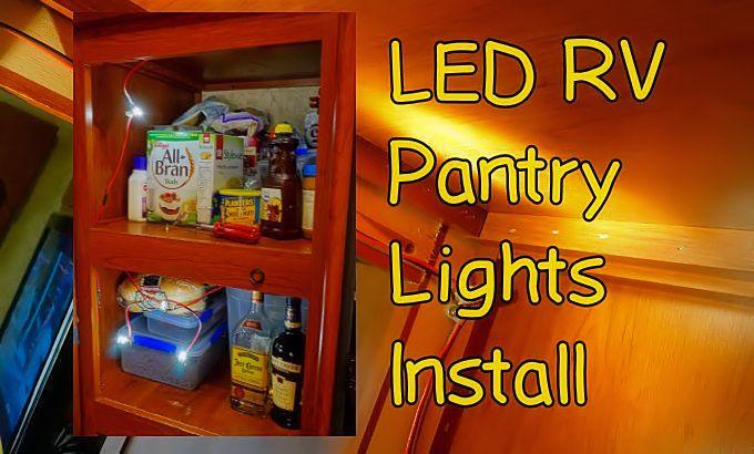 Pantry Lighting RV