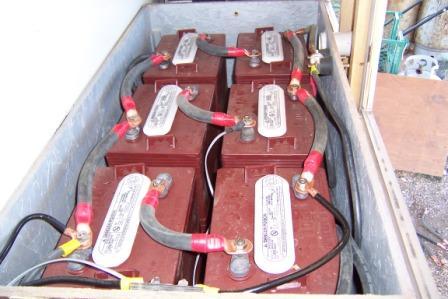 Rv battery bank
