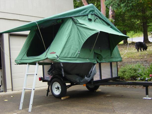 How To Build A Brilliantly Simple Tent Trailer Rvshare Com