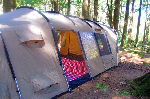 Thermo Tent door