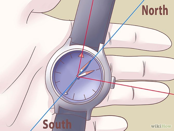 Use-an-Analog-Watch-as-a-Compass