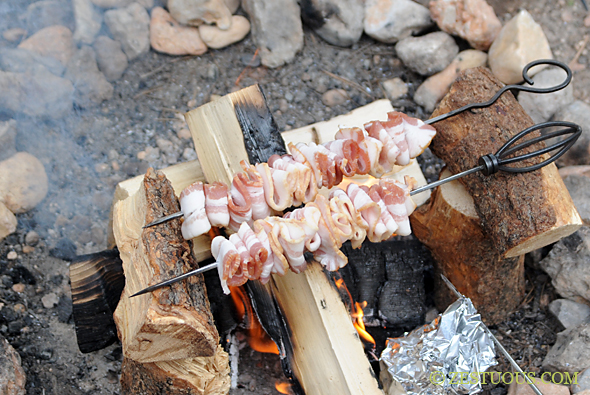 Campfire Bacon from Zestuous