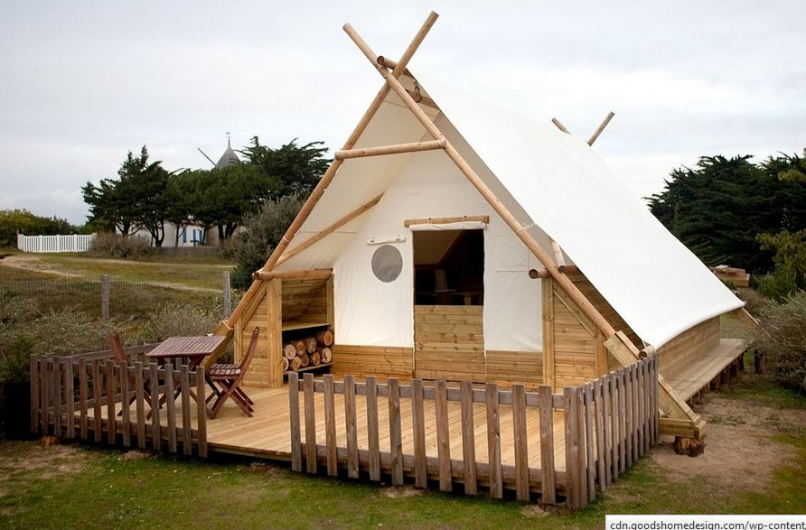 Canvas and Wood Tents - RVshare com