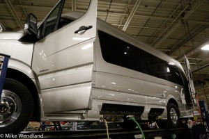 Mike and Jennifers new Roadtrek CS Adventurous being built.