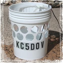 drill hole bucket