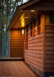 escape cabin exterior