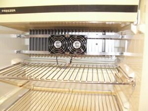 RV refridgerator fan