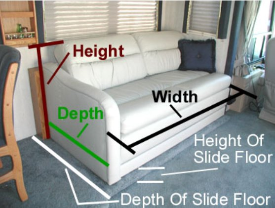 Swell Rv Sofa Bed How To Pick The Right Rv Couch Or Sofa Bed Alphanode Cool Chair Designs And Ideas Alphanodeonline