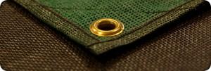 outdoor RV mat  brass loop