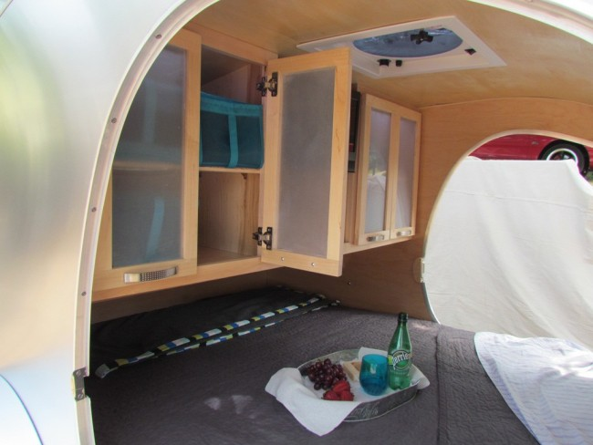The Tiny Camper Interior