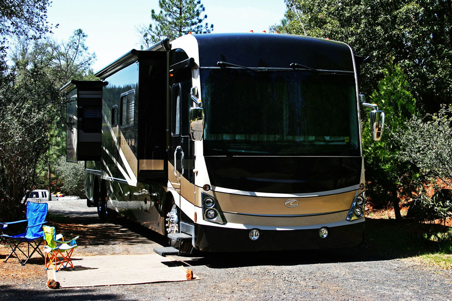 How to Set Up Your RV at a Campground the First Time
