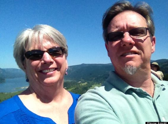 summer in North Arizona, Elayne and Arnold