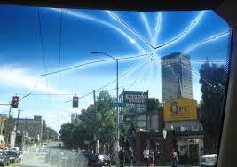 RV windshield