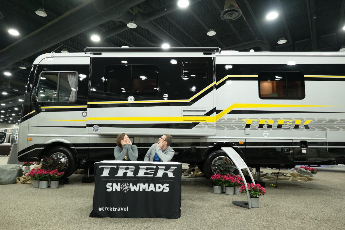 Trek RV with slide out