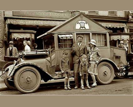vintage motorhome