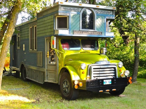 Green and Blue RV