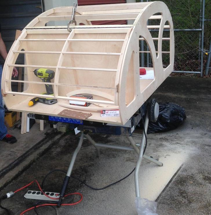 Beginning-of-a-teardrop-trailer-build-for-a-dog
