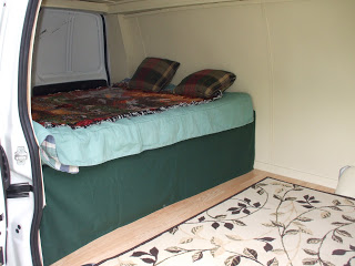 First-van-camper-bed