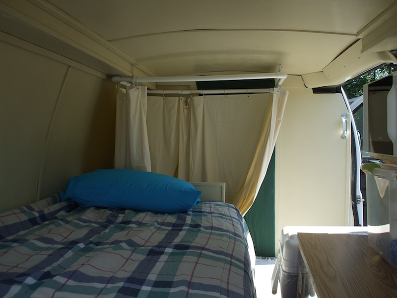 Larger-bed-along-one-side-of-van