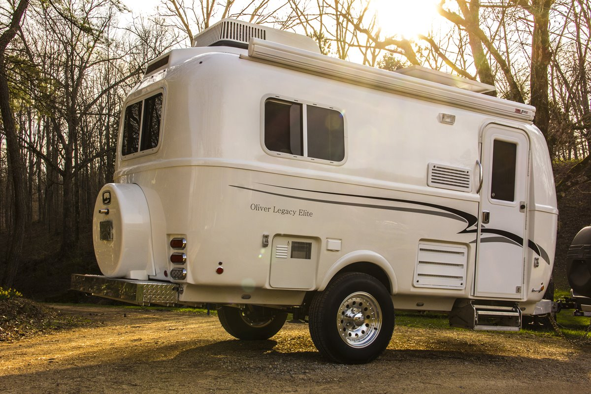 Check Out The Oliver Legacy Elite Travel Trailer - RVshare com