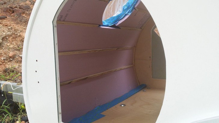 Rigid-foam-insulation-inside-the-doggie-teardrop-camper