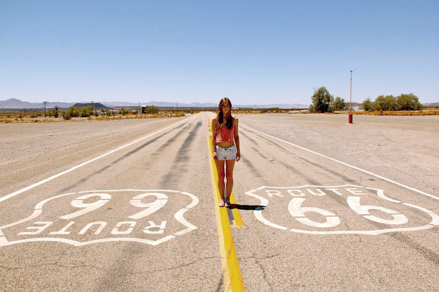 Route-66-Girl-The-Historic-Highway-in-The-USA