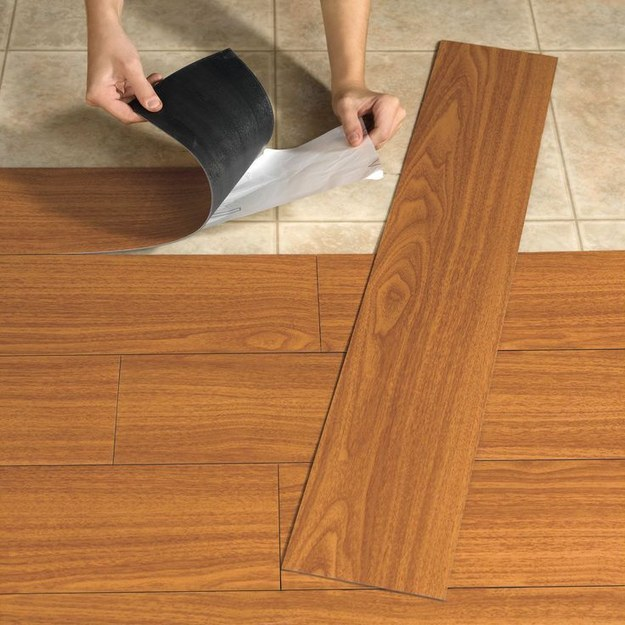 Vinyl planks for your floors