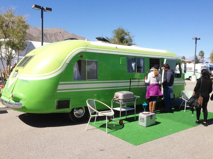 "Green with a ""Lawn"" RV"
