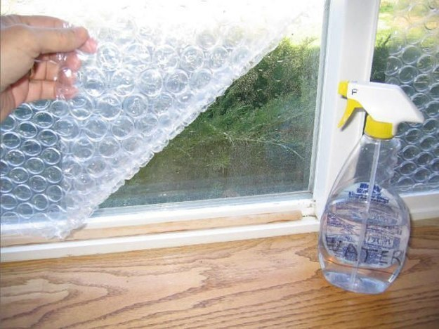 bubble wrap can be used to insulate your RV